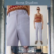 【18SS NEW】 Acne Studios_men/Aleq lilac/トラウザーズ/