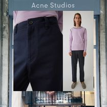 【18SS NEW】 Acne Studios_men/Aleq navy/トラウザーズ/