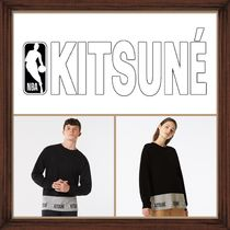 ★ MAISON KITSUN ×NBA《 LONG SLEEVES T-SHIRT 》送料込★★