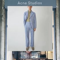 【18SS NEW】 Acne Studios_men/Kalnar gw oxford dusty blue/