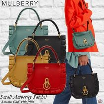 Mulberry☆Small Amberley Satchel-Smooth Calf- フリル