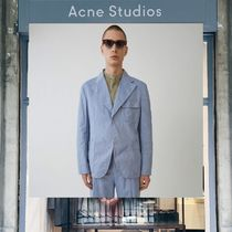 【18SS NEW】 Acne Studios_men/Visbe gw oxford dusty blue/
