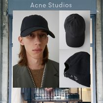 【18SS NEW】 Acne Studios_men / Carliy as black / キャップ /