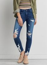 American Eagle Outfitters(アメリカンイーグル) デニム・ジーパン 【送料無料】9778 Trans chewed hr jegging cece dfx