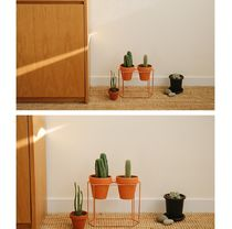 【Dailylike】 plant stand - 06 Double hexagon