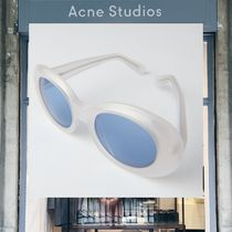 【18SS NEW】 Acne Studios_men/Mustang white clear/blue/