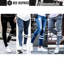 Bee Inspired*ダメージWashed ラインDETAILスーパーSkinny Jeans