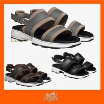【HERMES】Odyssee sandals 3色★バックル付き レザーサンダル