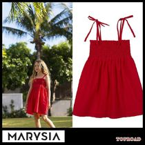 大人気☆Marysia Swim☆SMOCKED BABYDOLL DRESS  レッド
