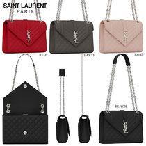 【正規品保証】SAINT LAURENT★18春夏★MEDIUM ENVELOPE BAG