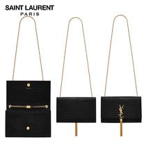 【正規品保証】SAINT LAURENT★18春夏★ KATE TASSEL CHAIN BAG