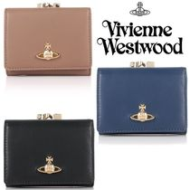 ◆VivienneWestwood◆18SS新色♪大人気NAPPAxオーブがま口財布