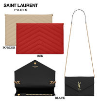 【正規品保証】SAINT LAURENT★18春夏★ENVELOPE CHAIN WALLET