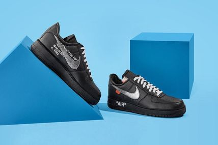 OFF-WHITE x MoMA x Air Force 1 07 'Black'