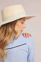【Anthropologie】新作!Stefani Boater Hatハット・Neutral