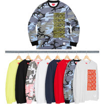 Week2新作!SUPREME18SS★Stacked L/S Top