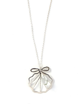 Kamera Jewelry ネックレス・ペンダント Silver sirena shell necklace[06-0001]