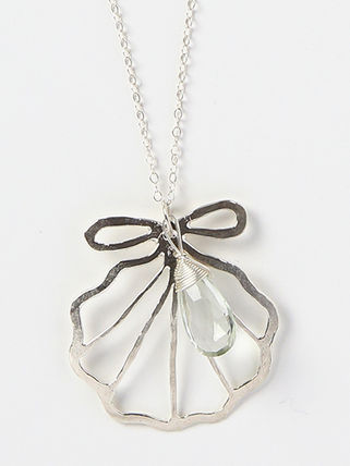 Kamera Jewelry ネックレス・ペンダント Silver sirena shell necklace[06-0001](4)