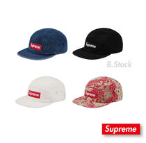 [18 S/S] 国内発送 Supreme  Washed Chino Camp Cap