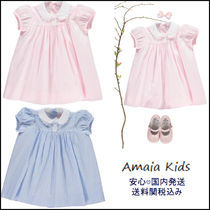 Amaia Kids(アマイアキッズ) キッズワンピース・オールインワン 英王室御用達 Amaia Kids ● Rose コットンワンピース 2color ♪