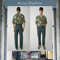 【18SS NEW】 Acne Studios_men/Amdre balsam greenトラウザーズ