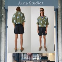 【18SS NEW】 Acne Studios_men/Avlin short navyショートパンツ