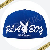 【17SS】Supreme PlayBoy Box Logo New Era Cap ニューエラ 青