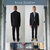 【18SS NEW】 Acne Studios_men / Brobyn j tr wo deep navy/