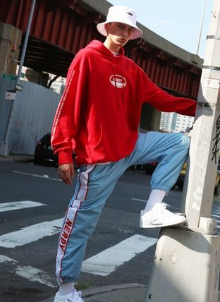 NERDY パンツ 人気【NERDY】★Line Windbreak Track Pants☆UNISEX★2色☆(11)
