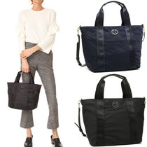 国内即発★Tory Burch★QUINN SMALL ZIP TOTE 2WAYトートバッグ