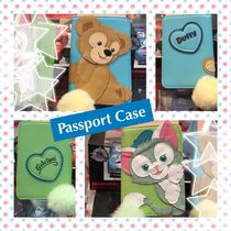 ディズニー - Passport Case - Duffy & Gelatoni