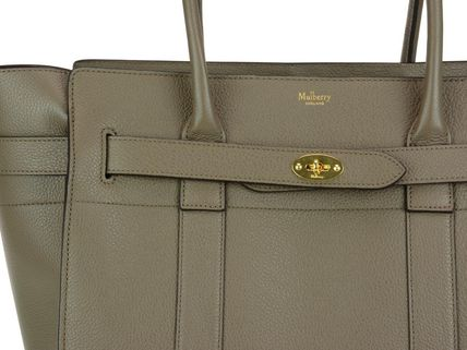 Mulberry トートバッグ Mulberry★Zipped Bayswater HH4402 205 Clay 関税/送料込(3)