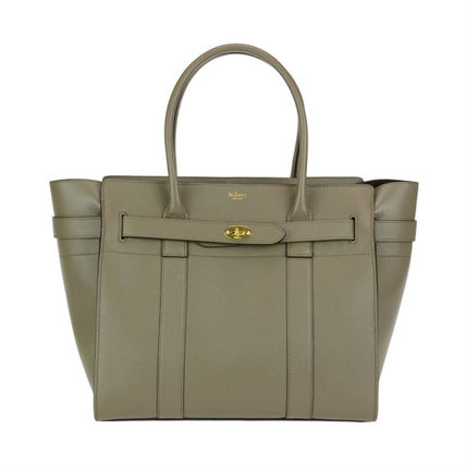 Mulberry トートバッグ Mulberry★Zipped Bayswater HH4402 205 Clay 関税/送料込(2)