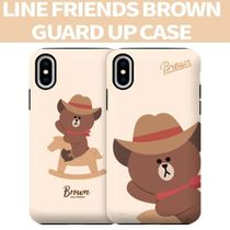 LINE FRIENDS(ラインフレンズ)  正規品iPhone guard up