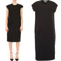 CELINE T-SHIRT DRESS IN COTTON JERSEY