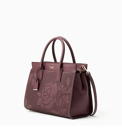 cameron street perforated candace satchel キャンダス