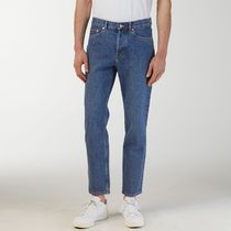 "ARKET(アーケット) デニム・ジーパン ""ARKET MEN""Cropped Mid-Wash Jeans Blue"