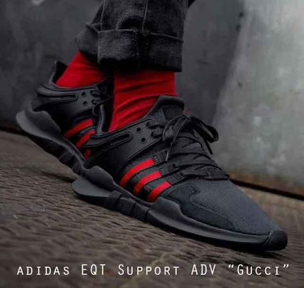 """online store 92291 38545 adidas EQT Support ADV """"Gucci"""" 赤 緑 黒 グッチファン必見!"""