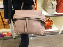 TODS 最低価格保証♪トートバッグ WAVE ピンク