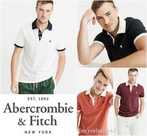 【Abercrombie&Fitch】ICON CONTRAST POLO☆ポロシャツ☆