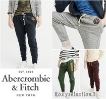 【Abercrombie&Fitch】HEAVYWEIGHT HERITAGE JOGGERS☆ジョガー