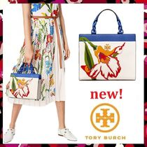 セール 新作 Tory Burch 小 Kira Small Floral Tote 2way 未発売