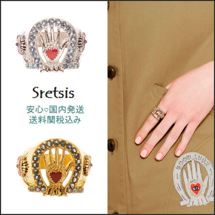 SRETSIS ● 18SS LUCKY RING 〓 2color