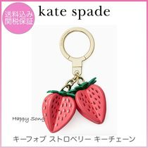 kate spade◆可愛い苺のキーチェーン◆strawberry keychain