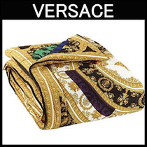 VERSACE☆I LOVE BAROQUE プリント ナイロン掛け布団
