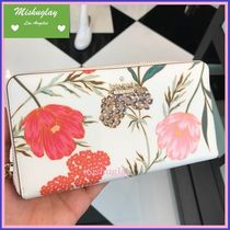 【kate spade】3月発表★華やかblossom♪人気の長財布lacey★