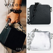 国内発送 THE VOLON Cube Chain Bag