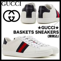 ☆EMS/関税込☆GUCCI★ACE BASKETS SNEAKERS 正規品