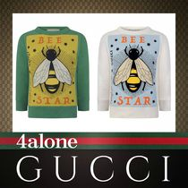 GUCCI☆18SS☆大人もOK☆Bee Starトップス