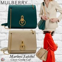 Mulberry☆Marloes Satchel-Classic Grainy Calf-サッチェル